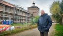 Projectontwikkelaar Gerald Kristen bij de vierde fase van bouwproject Collegepark Zwijsen.