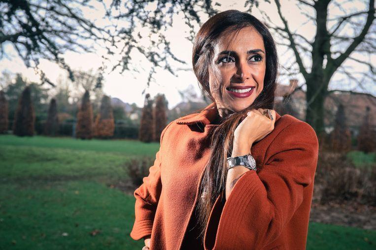 Darya Safai was tandarts nu politci bij n-va *** Wemmel, Belgium - 26/01/2018 Photo by Pieter-Jan Vanstockstraeten / Photonews Beeld Photo News