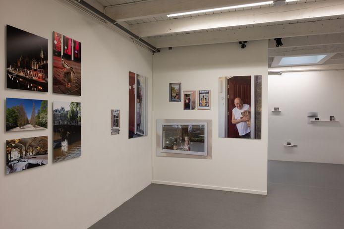 Een van de tentoonstellingen in het Kunstgemaal Bronckhorst