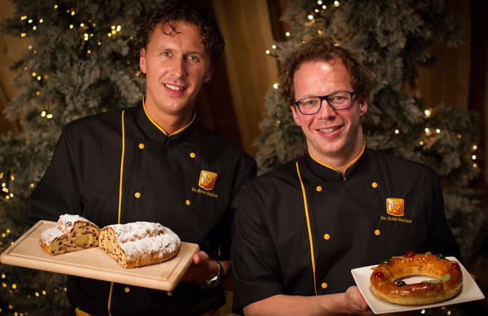 Broers Jeroen (links) en Barry van der Steen