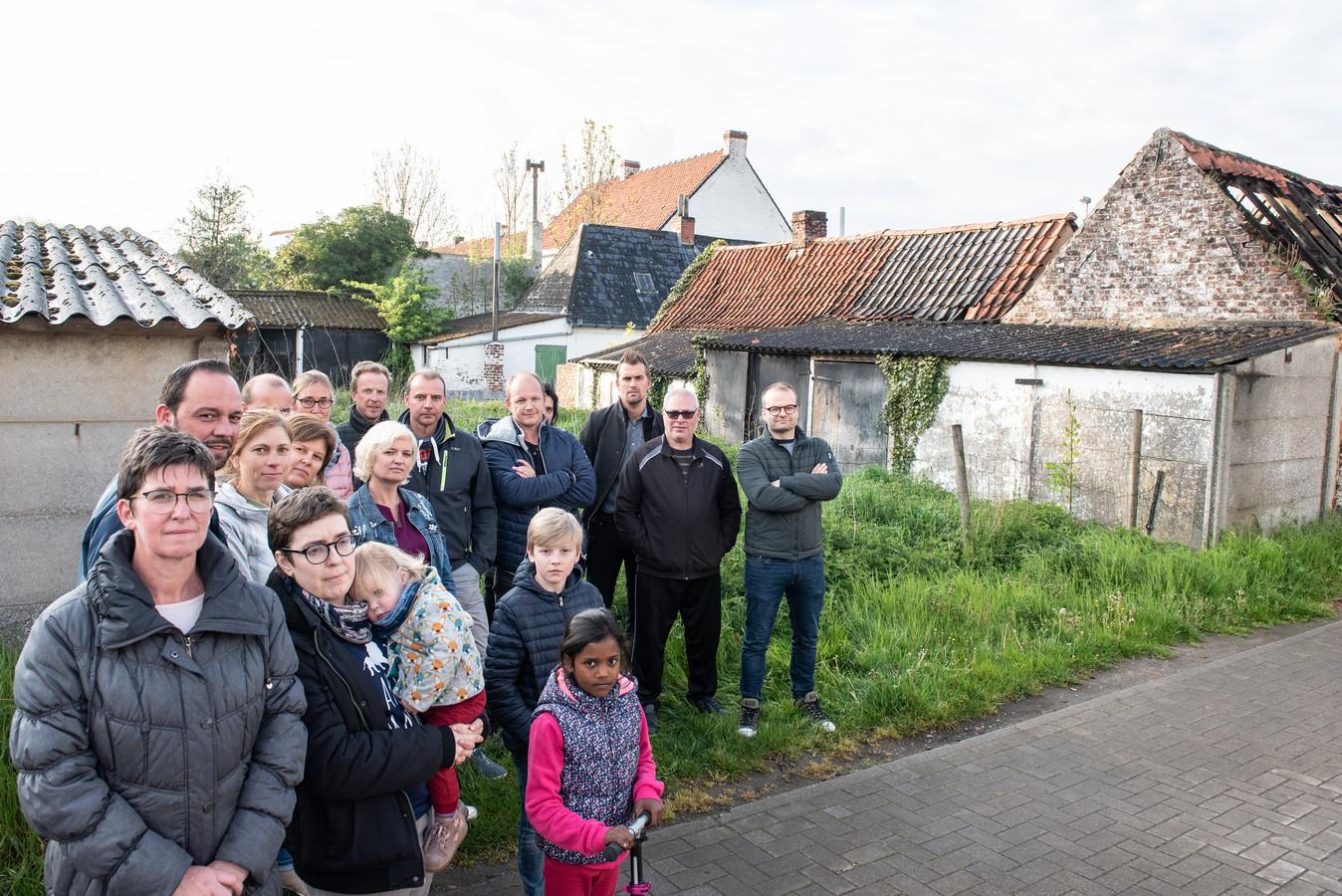 Bewoners van de Zwijndries en Vijverweide vinden het project niet passen in hun buurt.