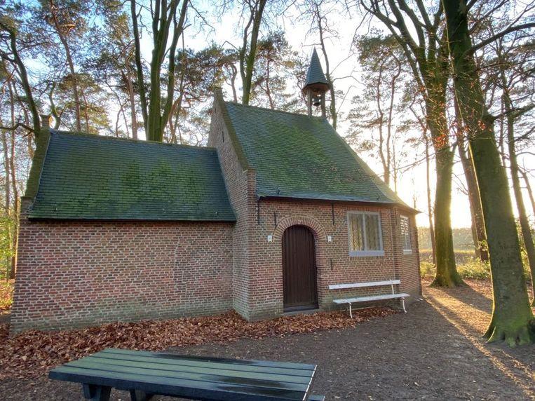 De Sint-Antonius Abt kapel aan gehucht Salphen