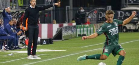 Meijer na gelijkspel NEC tegen Sparta: 'We hadden er meer uit kunnen halen'