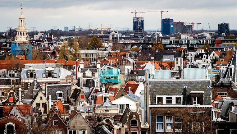 Huizen zijn nog altijd bijna 13 procent goedkoper dan tijdens de piek van de huizenmarkt. Beeld anp