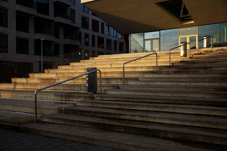 Geert Groote College Amsterdam. Beeld CHRIS EN MARJAN