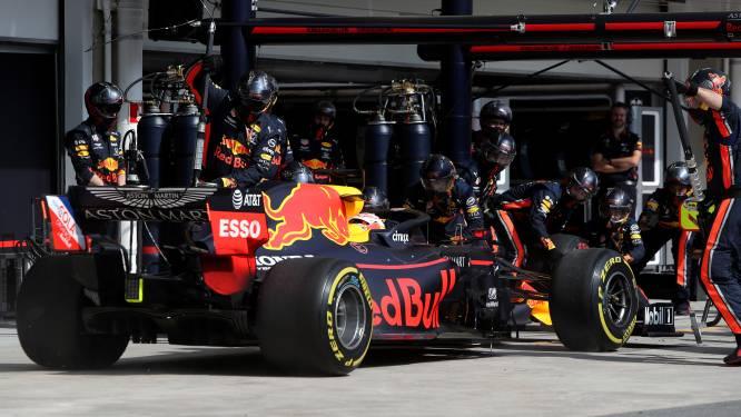 Verstappen verbreekt eigen record van snelste pitstop ooit