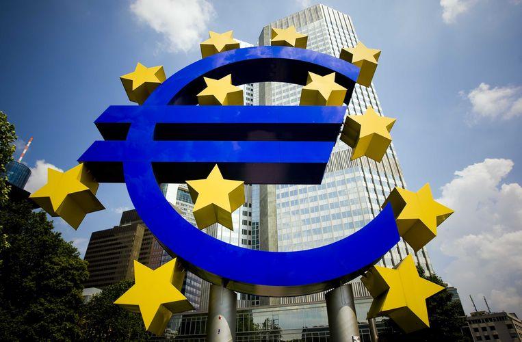 Het gebouw van de Europese Centrale Bank. Beeld ANP XTRA