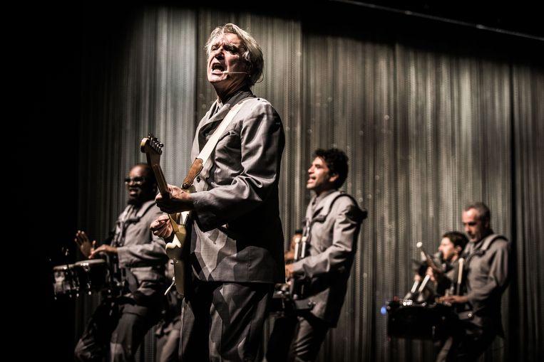 20180630 GENT Gent Jazz : David Byrne FOTO BAS BOGAERTS Beeld Bas Bogaerts