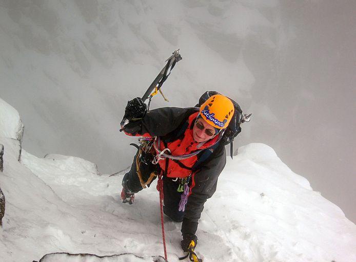 Bergbeklimmer Katja Staartjes