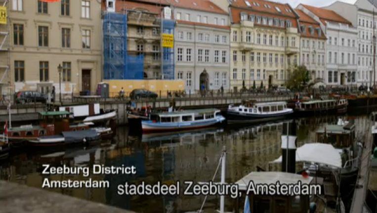 Homeland, aflevering 7, seizoen 5. Zeeburg, Amsterdam of Markisches Ufer, Berlijn. Beeld Screenshot
