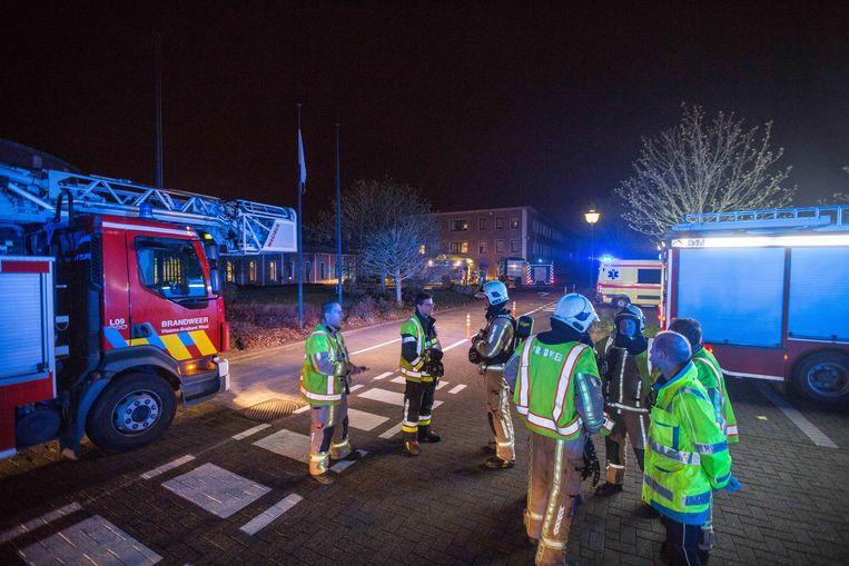 De hulpdiensten hadden de brand snel onder controle.