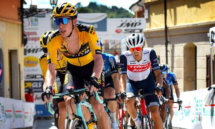 Pascal Eenkhoorn eindigde als vijfde in de Tour de Wallonie.