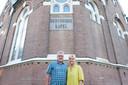 Jan Jaap en Titi Lems wonen sinds twee jaar in de kerkwoning.
