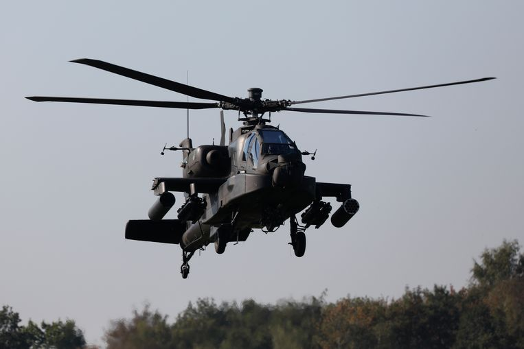 Een helikopter van Defensie.  Beeld ANP