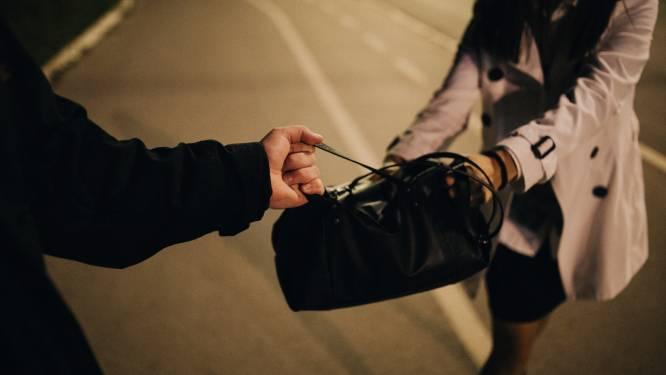 Jonge tasjesdieven trappen en overvallen vrouw (63), maar krijgen haar tas niet te pakken
