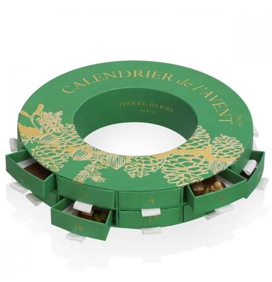 Le calendrier de l'avent de Pierre Hermé - 62 euros. Disponible sur www.pierreherme.com.