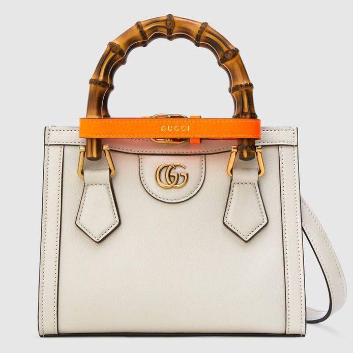 Le Gucci Diana mini tote bag.