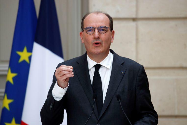 De Franse premier Jean Castex. Beeld AP