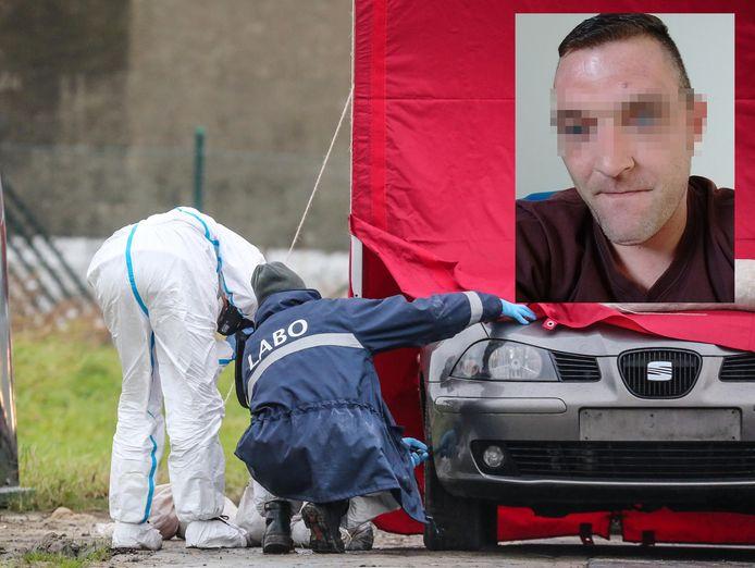Het lichaam van Mihaël Parrent werd aangetroffen in de koffer van een wagen.