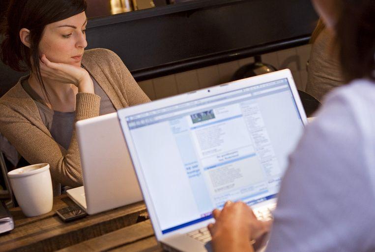 draadloos werken op je laptop. Beeld ANP