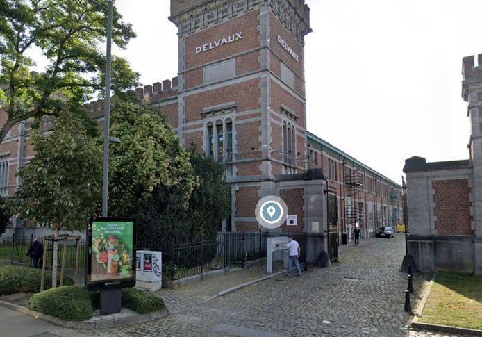 Le siège de la Maison Delvaux à Etterbeek.