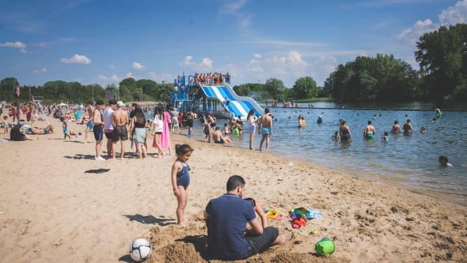 Vanaf woensdag redders op de Blaarmeersen. Waar kan en mag je zwemmen deze zomer?