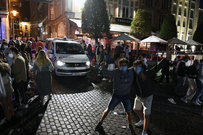 De studenten zijn weer in Leuven en dat was de voorbije avonden te merken.