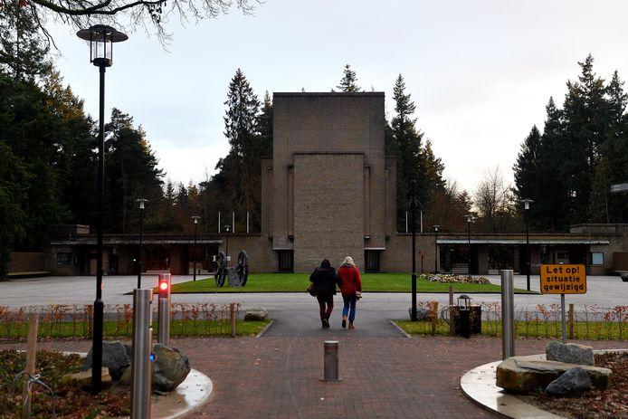 De ingang van begraafplaats Rusthof
