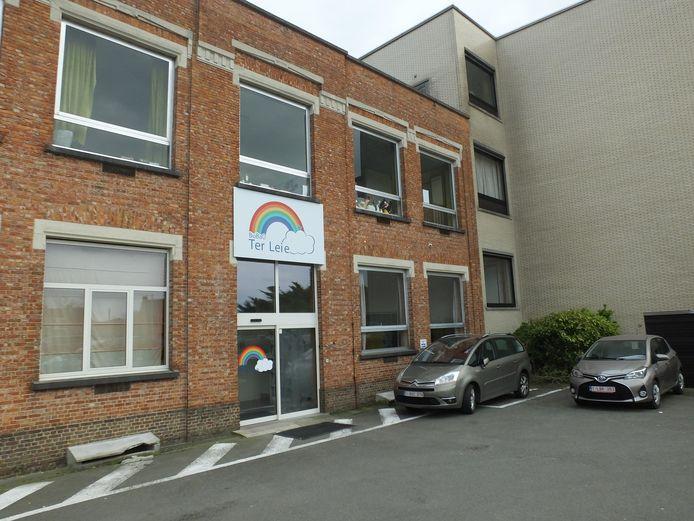 De basisschool Ter Leie in Bachte-Maria-Leerne.