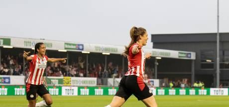 Met doelpunt 52 bezorgt Joëlle Smits PSV de beker
