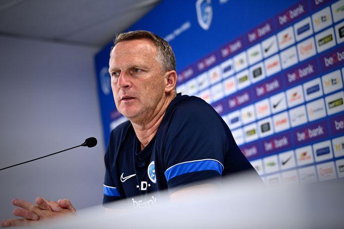 De Genkse coach John van den Brom.