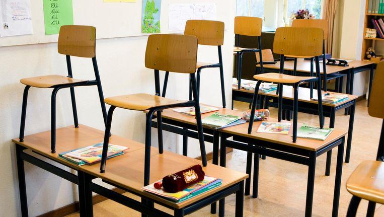 Dinsdag beginnen de basisscholen een uur later Beeld anp