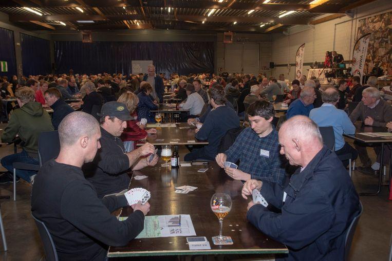 Belgisch Kampioenschap Wiezen in zaal Skala in Kalken (Laarne).