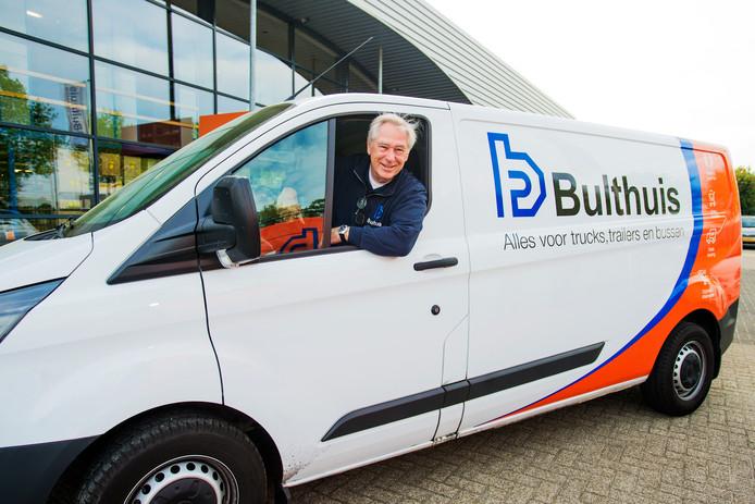 De gepensioneerde Jan ten Bruggencate werkt vijf tot zes dagen bij de firma Bulthuis in Tilburg.