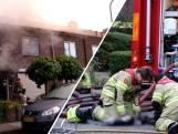 Vier honden dood bij woningbrand; brandweer redt andere dieren