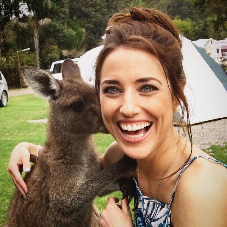 Emmy op bezoek bij Jake in Australië.