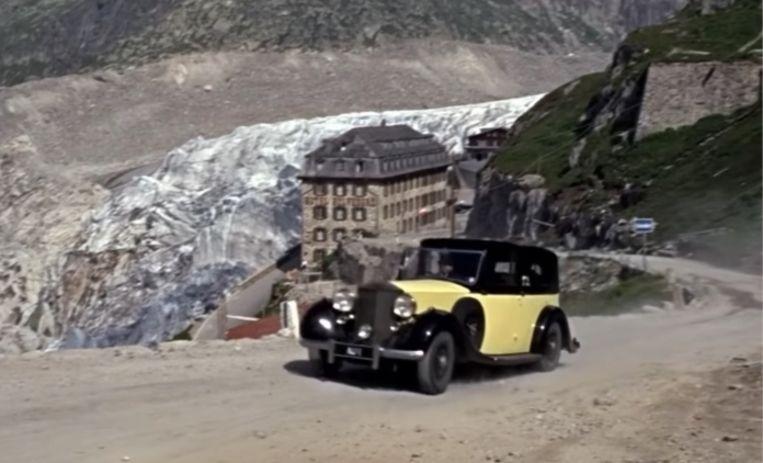 De bocht aan Hotel Belvédère staat op ontelbare postkaarten en was in 1964 het decor voor een achtervolgingsscène in de Bond-film 'Goldfinger'. Beeld