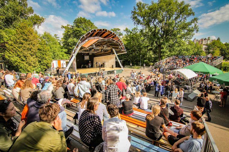 Het Vondelpark Openluchttheater Beeld -