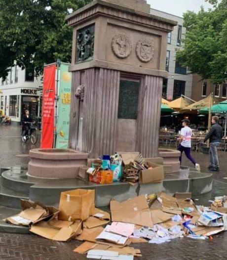 Wijkraad binnenstad Enschede: 'Haal grofvuil gratis op, erken falen diftar'