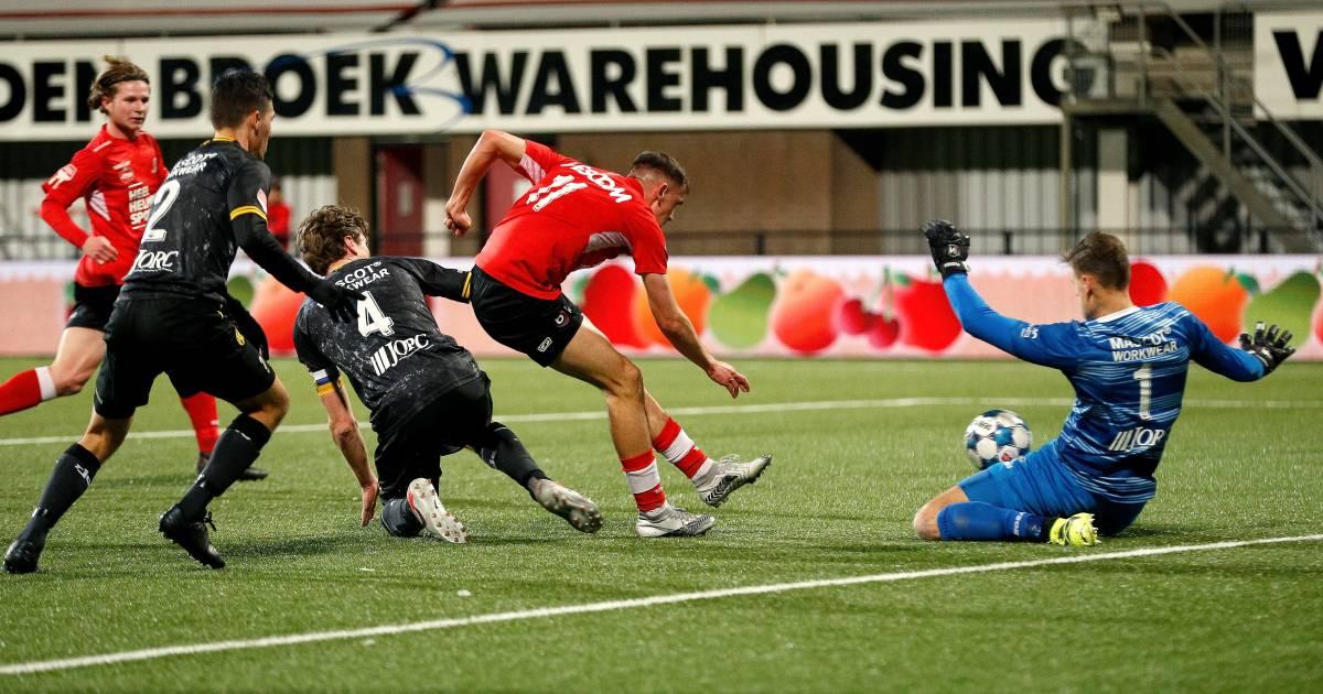 Streppels Roda JC maakt met gestolen overwinning einde aan fraaie reeks van Helmond Sport - Eindhovens Dagblad