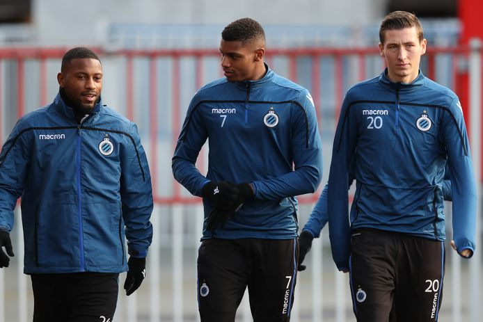 Denswil, Wesley en Vanaken op training.