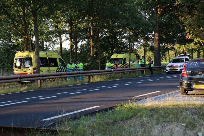 Motorrijder komt om het leven bij ongeluk op Rijksweg bij Reek.