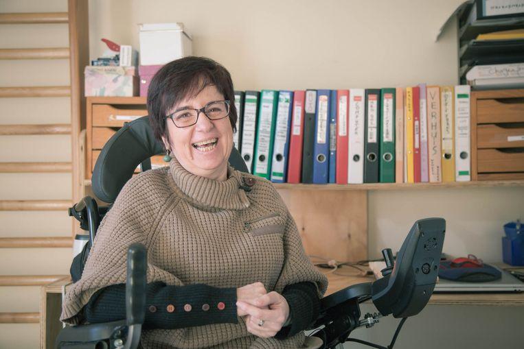 Michèle Van Overstraeten. Beeld De Morgen
