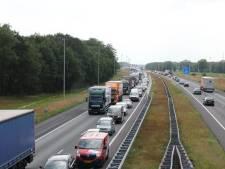 Ongeval op A1: vertraging richting Hengelo