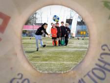 Toch lekker knallen op het voetbalveld van Ewijk