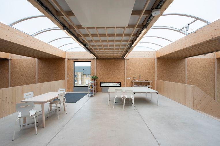 Voorbeeld van houtbouw van architectenbureau SeARCH. Beeld SeARCH