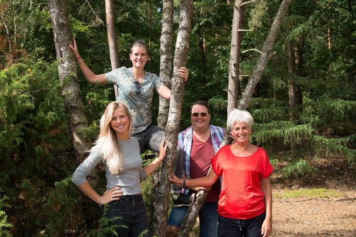 De familie Biersteker is het kloppend hart achter de nieuwe organisatie 'Gloei'.
