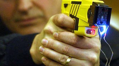 Voor het eerst taser gebruikt bij politie-interventie in ons land