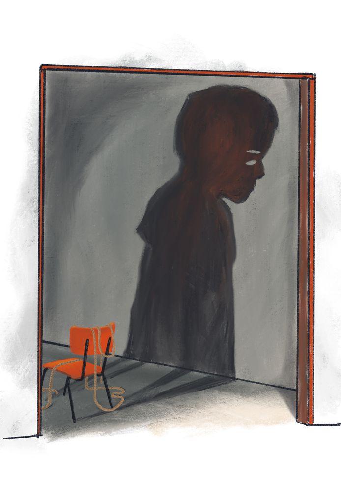 12-jarige stiefzoon in leeg pand in Wijchen vastgebonden en seksueel misbruikt.