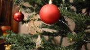 Voor het eerst kerstboomophaling huis-aan-huis